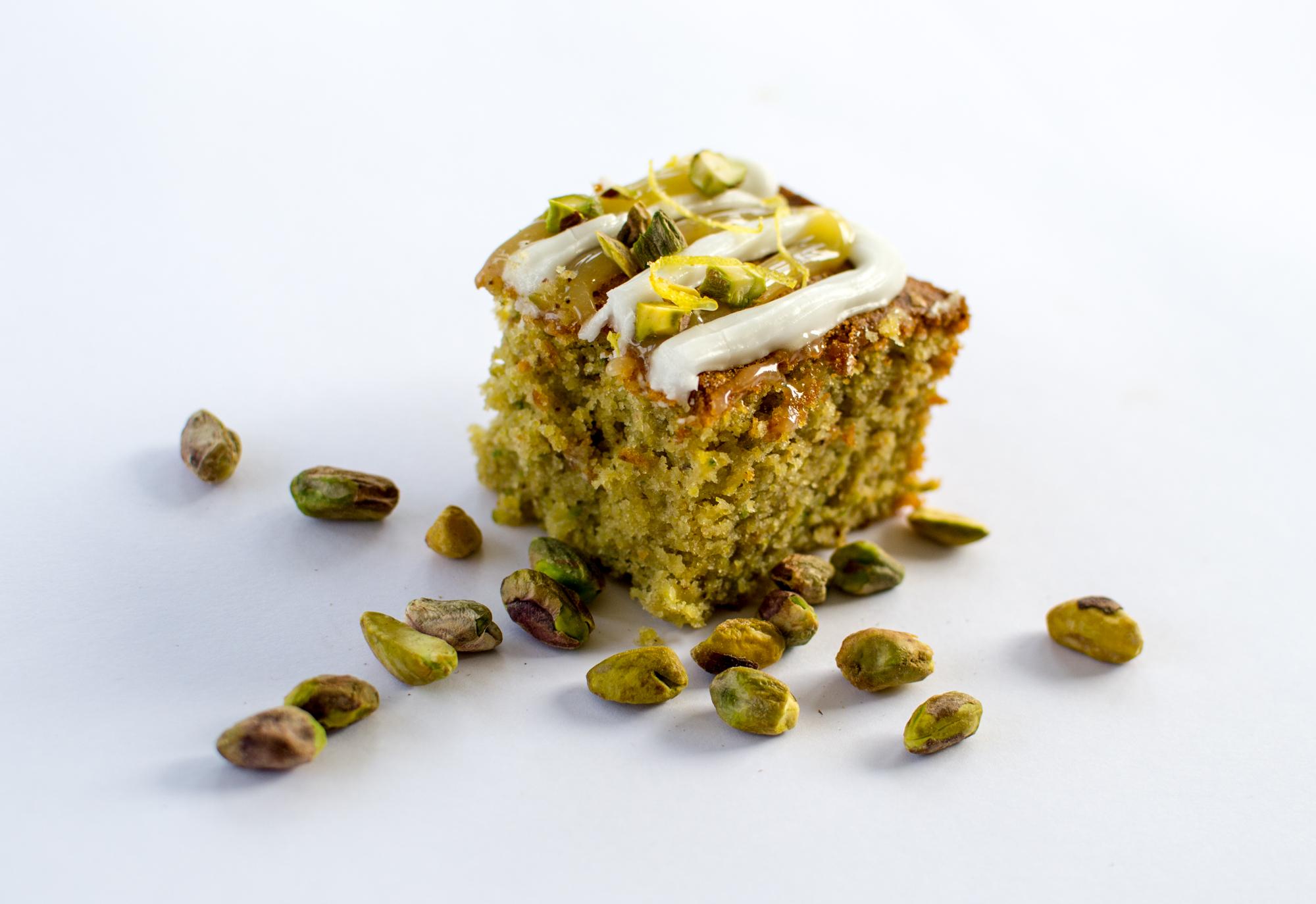 Courgette And Lemon Cake Good Food