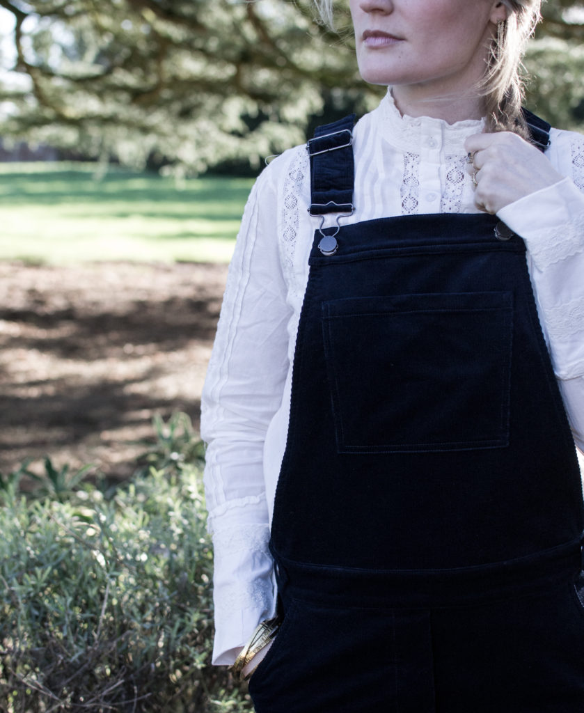 Laura Ashley Corduroy Dungarees