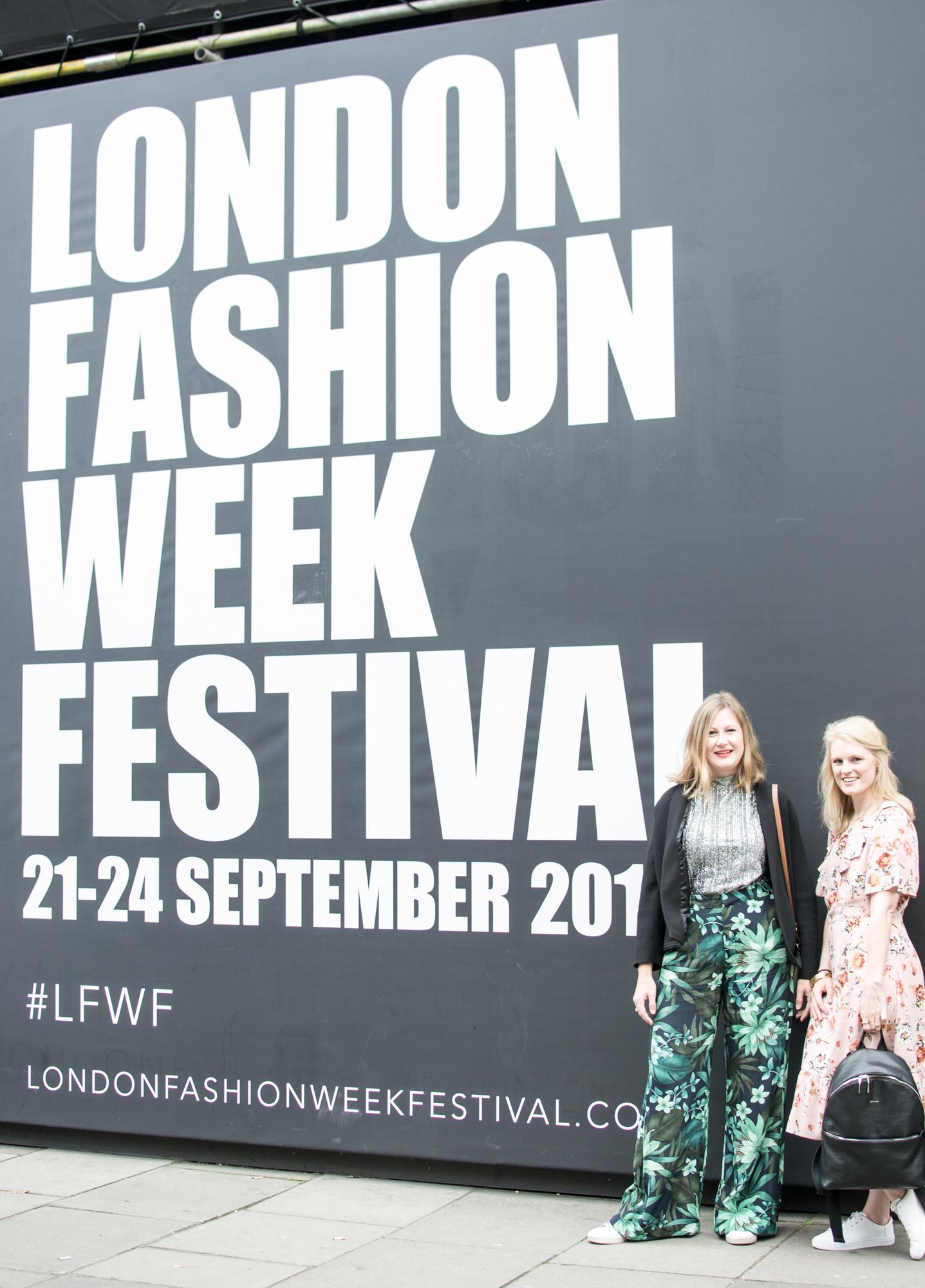n4mummy and Finlay Fox at London Fashion Week Festival