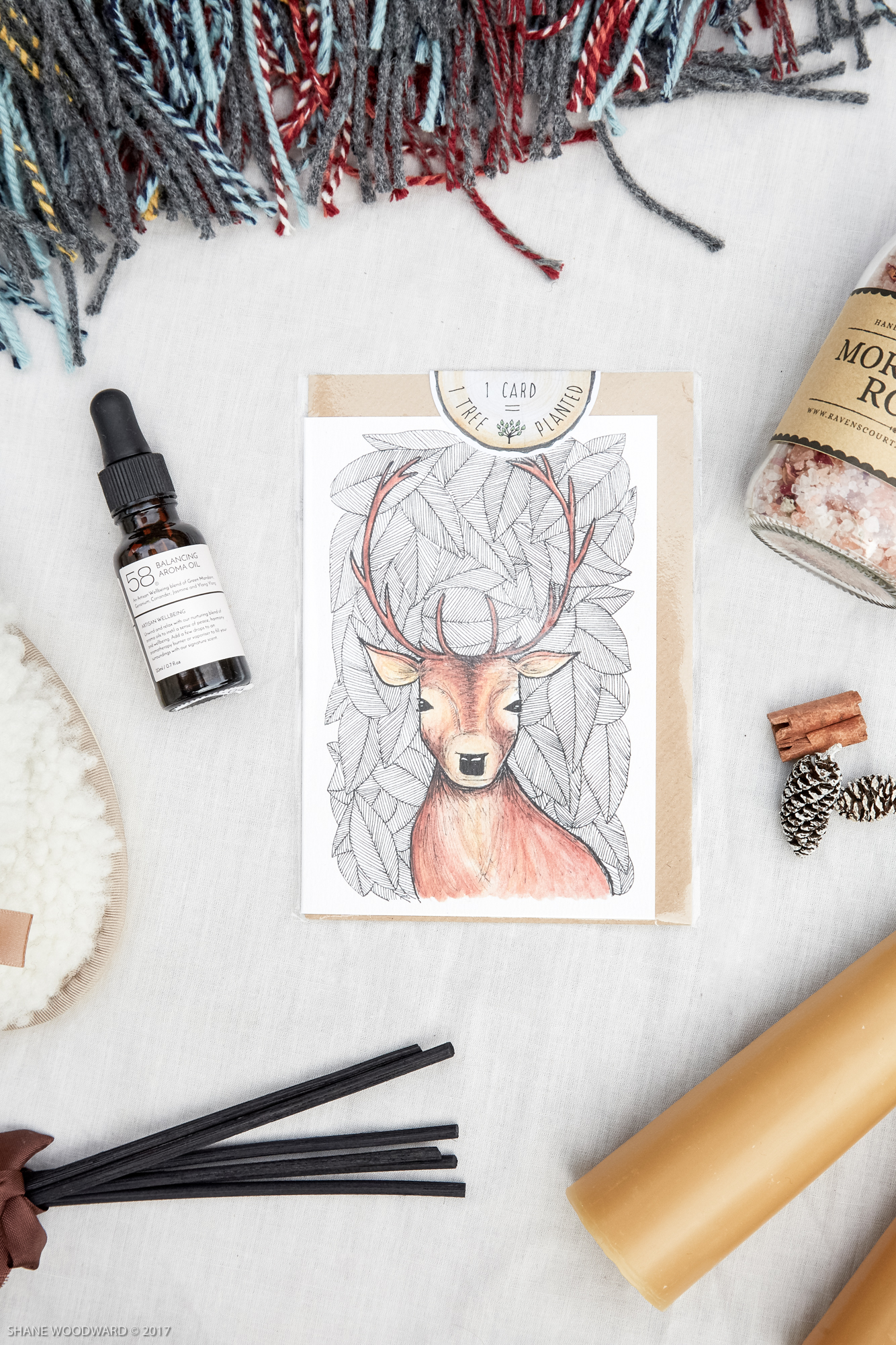 Little Difference stag card