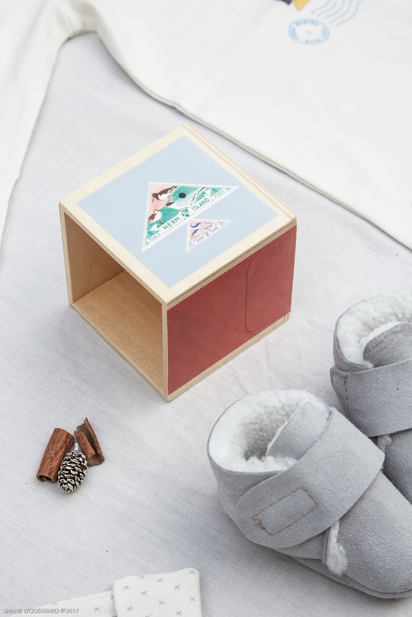 From Babies With Love Wooden Nesting Blocks