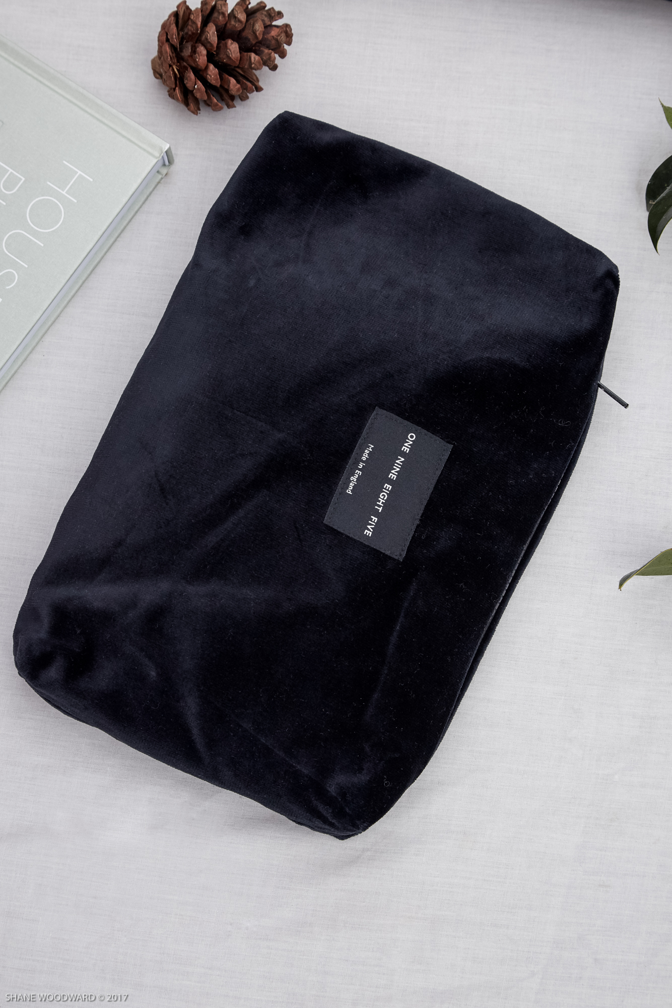 One Nine Eight Five Velvet Pouch