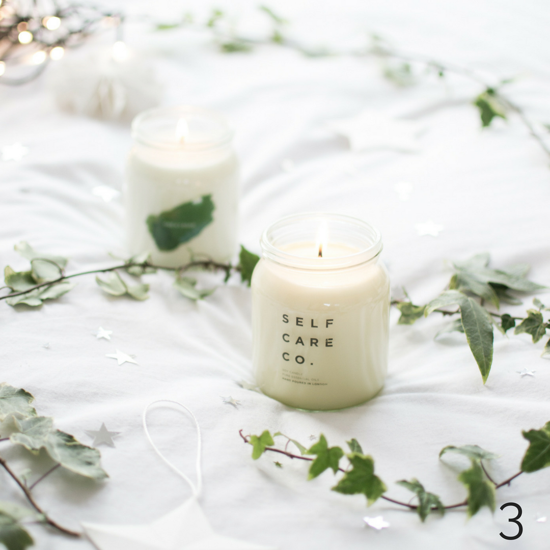 soy candles Self Care and Co
