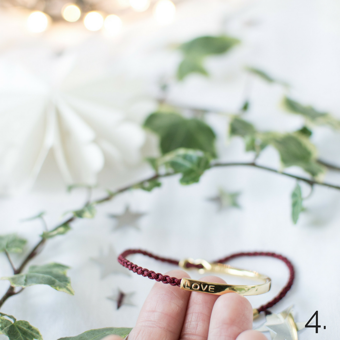 be love bracelet Hannah Shucksmith