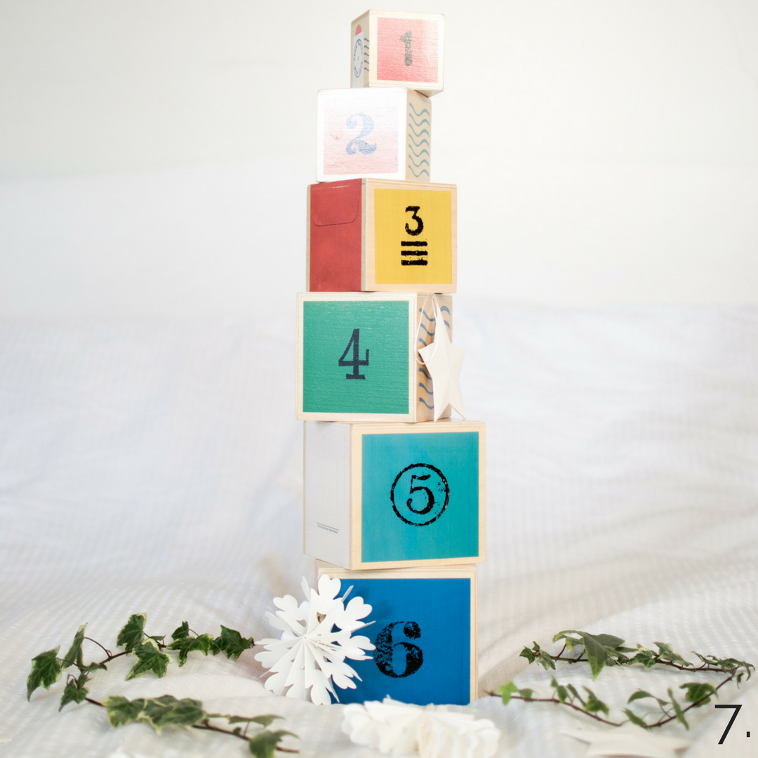 Wooden Toy Blocks From Babies With Love