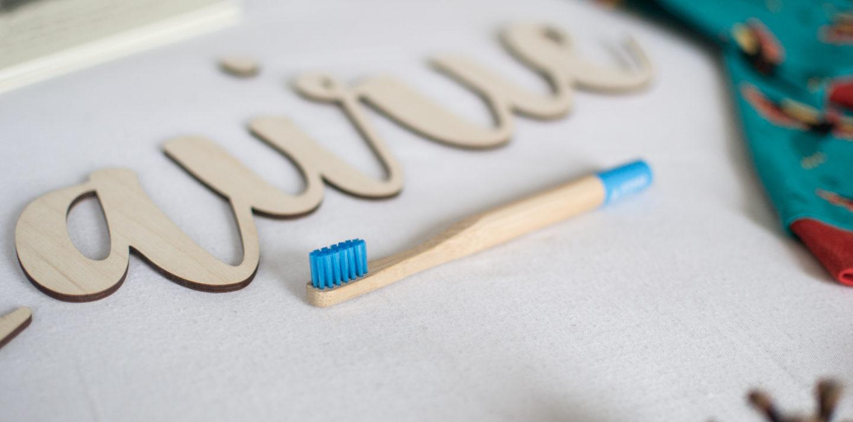 Bamboo Toothbrush &Keep